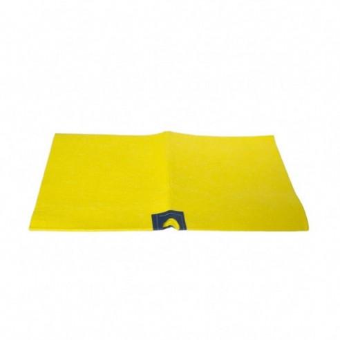 Pantalon Cargo Mujer Gabardina Azul